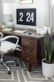 century office. A Classic Mid-Century Office Makeover Reveal Century
