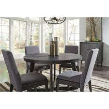 ashley furniture besteneer round dining set in dark grey