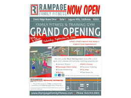 grand opening event ribbon cutting rage family fitness sept 13
