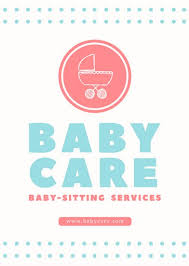 Babysitting Templates Flyers Babysitter Flyer Faveoly