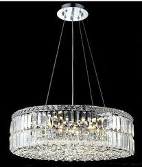 modern crystal pendant lighting. Modern Crystal Pendant Light Lighting Chrome Fixture Round Shape Guaranteed 100% + E