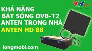 Anten DVB T2 trong nhà tốt nhất - Xem 200 Kênh miễn phí - Freeship
