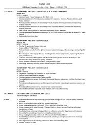 Project Coordinator Resume Samples Lovely Project Coordinator Resume