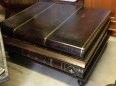 book coffee table furniture. Maitland Smith Furniture Vintage Leather Book Coffee Table A