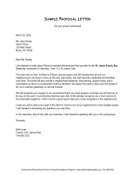 Format For Proposal Letter Enchanting Examples Of Proposal Letters Scrumps