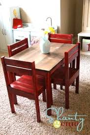 table and chairs for the playroom