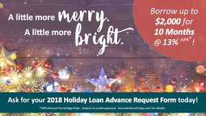 a little more merry a little more bright holiday loans are back for 2018