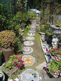Small Picture Best 25 Stepping stone paths ideas on Pinterest Stepping stone