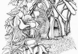 Free Fairy Coloring Pages For Adults To Print Free Printable Fairy