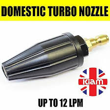 2750 Psi Pressure Washer Rotating Turbo Nozzle With 1 4