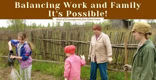 Balancing Work And Family Balancing Work And Family Its Possible Elaine Froese