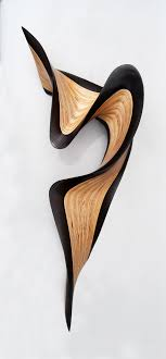 Artful Home Wenge Jive By Kerry Vesper Wood Wall Sculpture Artful Home