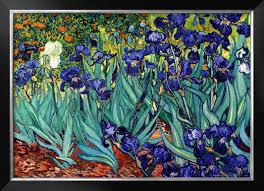 irises saint remy c 1889 by vincent van gogh fg 223 85 00