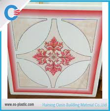 <b>2017 New Color</b> Design <b>PVC</b> 595*595*7mm Ceiling Tile Hot ...