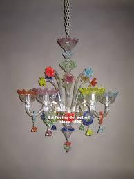 gluttony murano glass chandelier