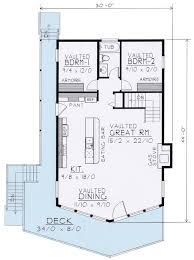 WideOpen Lakefront Home Plan  14001DT  Architectural Designs Lake Front Home Plans