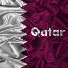 Qatar Flag Illustration Vector Waving ...