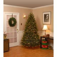 Home Accents Holiday 12 Ft PreLit LED Morgan Pine QuickSet 12 Ft Fake Christmas Tree