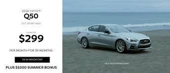 new infiniti q50 lease special at devan infiniti of fairfield