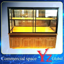 countertop pastry display case canada bread bakery refrigerated china cake cabinet kitchen wood baking showcase past countertop glass pastry display case