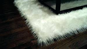 grey faux sheepskin rug fake large size of bear print area rugs canada lovely fur