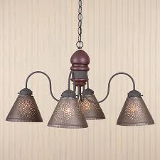 punched tin lighting fixtures. name cambridge punched tin chandelier lighting fixtures u