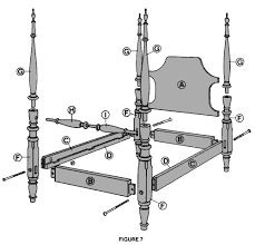 4 poster bed plans. Delighful Bed In 4 Poster Bed Plans