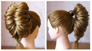 Tuto Coiffure Queue De Cheval Originale Et Simple Tresse Pi