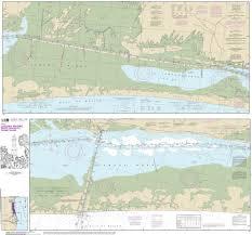 Noaa Chart Intracoastal Waterway Laguna Madre Middle Ground To Chubby Island 11306