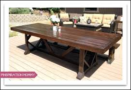 outdoor dining table plans large outdoor dining table outdoor wood dining table plans