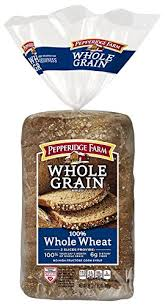 pepperidge farm wheat bread.  Wheat Pepperidge Farm Whole Grain Bread Wheat 24 Ounce On Wheat Bread E