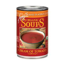 Amy S Light In Sodium Marinara Organic Light In Sodium Cream Of Tomato Soup 14 5 Oz