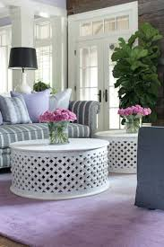 table : White Side Table Amazing White Circle Coffee Tables Of The ...
