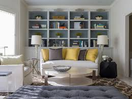Bookshelves Living Room