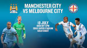 Melbourne City FC to face Manchester City FC on the Gold Coast.