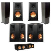 klipsch 2x rp 440wf hd premiere hd wireless floorstanding speaker w audio bundle. 2x rf-7 ii floorstanding speaker, black - bundle w klipsch rp 440wf hd premiere wireless speaker audio
