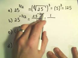 evaluating numbers with rational exponents by using radical notation basic example 1 you