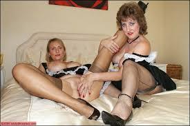 Legs lesbian lesbian pantyhose lingerie mature