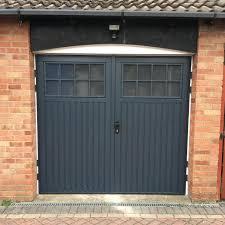 double carriage garage doors. Garage Carriage Door Windows White Double Doors S