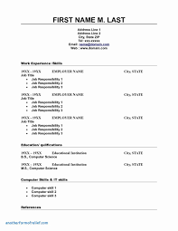 Resume Templates In Word Download Best Free Doc Resumes Template