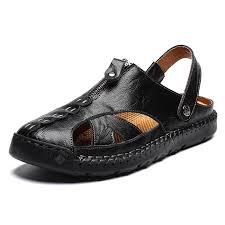 SENBAO <b>Men</b> Sandals Black EU 48 Sandals Sale, Price & Reviews ...
