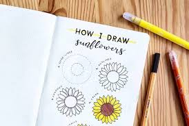 17 amazing step by step flower doodles