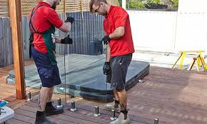 how to install frameless glass pool fencing