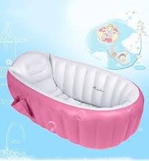blueidea summer pool inflatable baby bath tub pool slip folding shower seat of cuenca pink