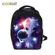 galaxy small backpack for s boys bookbag cartoon children bags e universe toddlers backpack bag