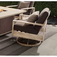 outdoor swivel rocker patio chair with cushion frisco rc willey furniture