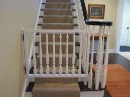 image of dog gates for stairs diy