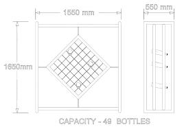 Wine Racks Diamond Wine Rack Plans Marvellous Wine Racks Wine Rack