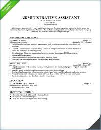Personal Assistant Resume Noxdefense Com
