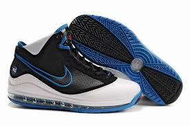 lebron 7 for sale. nike air max lebron vii shoes white black blue,basketball low cut vs high 7 for sale w